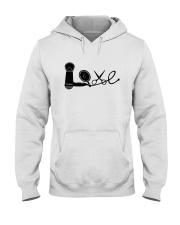 Love Hairstylist Hooded Sweatshirt thumbnail