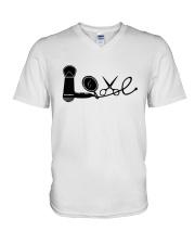 Love Hairstylist V-Neck T-Shirt thumbnail