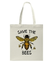 Save The Bees Tote Bag thumbnail