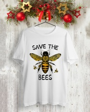 Save The Bees Classic T-Shirt lifestyle-holiday-crewneck-front-2
