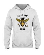 Save The Bees Hooded Sweatshirt thumbnail