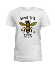 Save The Bees Ladies T-Shirt thumbnail