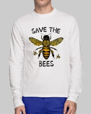 Save The Bees Long Sleeve Tee lifestyle-unisex-longsleeve-front-1