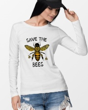 Save The Bees Long Sleeve Tee lifestyle-unisex-longsleeve-front-4
