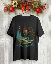 Take Me To The Mountains Classic T-Shirt lifestyle-holiday-crewneck-front-2