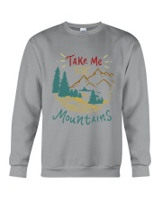 Take Me To The Mountains Crewneck Sweatshirt tile