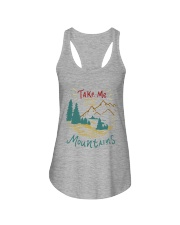 Take Me To The Mountains Ladies Flowy Tank tile