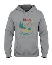 Take Me To The Mountains Hooded Sweatshirt thumbnail