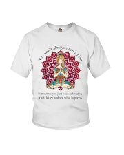 Let Go And See What Happens Youth T-Shirt thumbnail