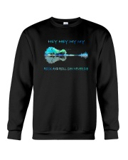 Rock And Roll Can Never Die Crewneck Sweatshirt thumbnail