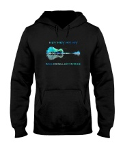 Rock And Roll Can Never Die Hooded Sweatshirt thumbnail