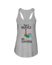 Do Not Ruffle My Father Ladies Flowy Tank thumbnail