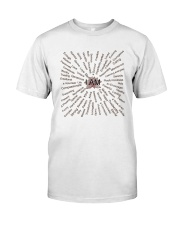 Love Yoga Classic T-Shirt front