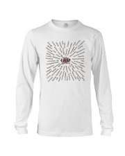 Love Yoga Long Sleeve Tee front