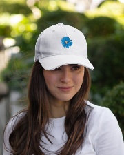 Daisy Flower Embroidered Hat garment-embroidery-hat-lifestyle-07