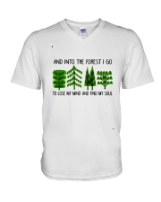 I Go To Lose My Mind V-Neck T-Shirt thumbnail
