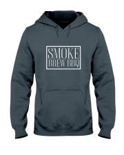 Smoke Brew BBQ T-shirt Hooded Sweatshirt front