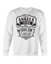 Angela Angela Crewneck Sweatshirt thumbnail