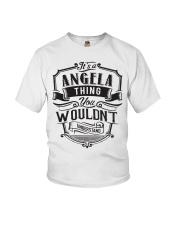 Angela Angela Youth T-Shirt thumbnail