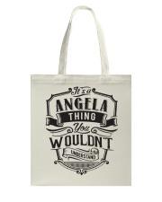 Angela Angela Tote Bag thumbnail