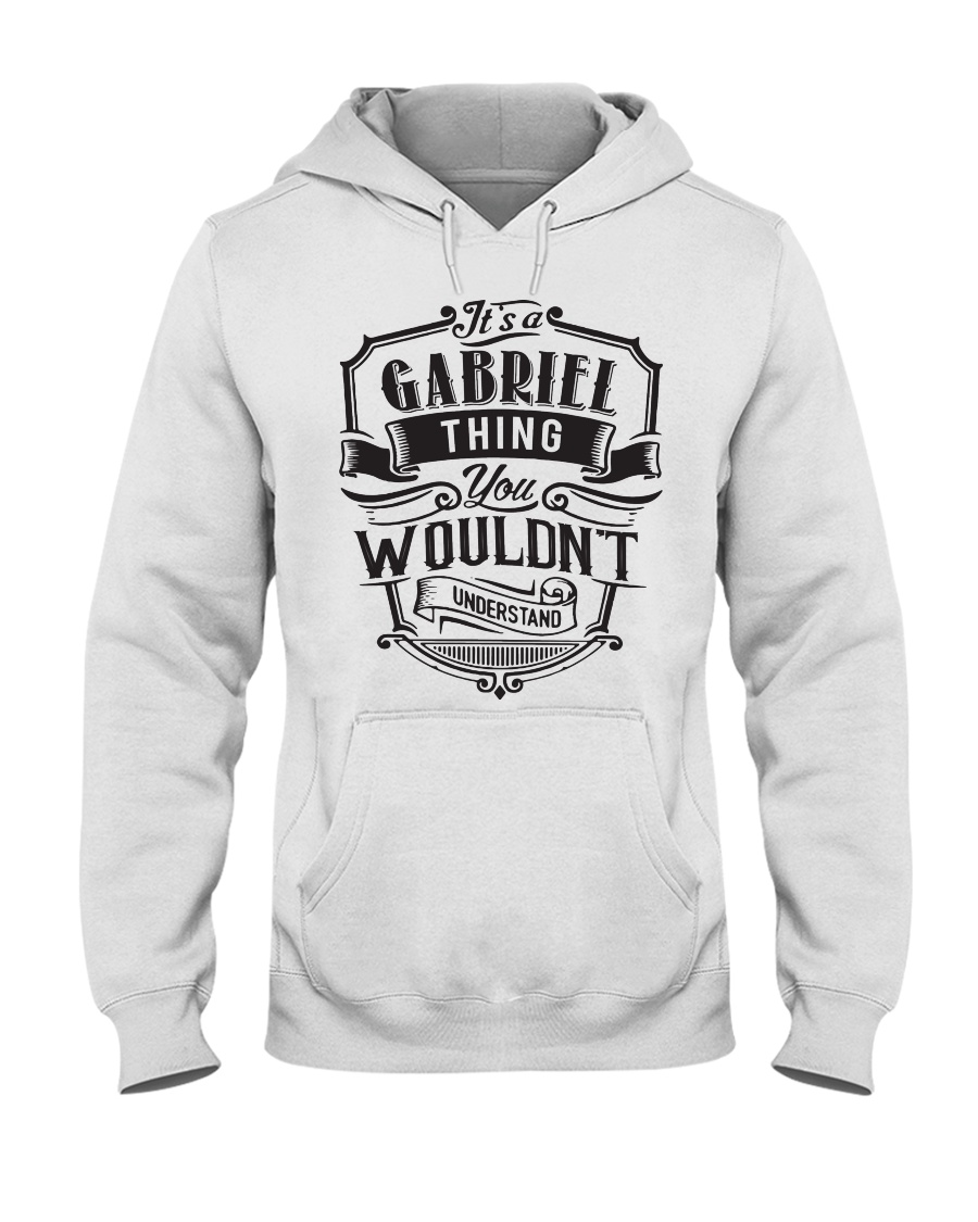 It's A Name Thing - Gabriel Hooded Sweatshirt