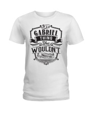 It's A Name Thing - Gabriel Ladies T-Shirt thumbnail