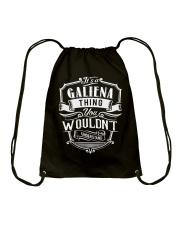 It's A Name - Galiena Drawstring Bag thumbnail