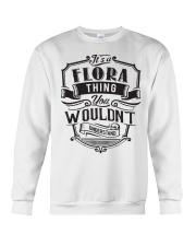 It's A Name Shirts - Flora  Crewneck Sweatshirt thumbnail