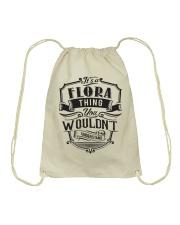 It's A Name Shirts - Flora  Drawstring Bag thumbnail