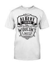 It's A Name Shirts - Albert  Classic T-Shirt thumbnail