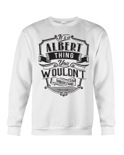 It's A Name Shirts - Albert  Crewneck Sweatshirt thumbnail
