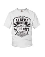 It's A Name Shirts - Albert  Youth T-Shirt thumbnail