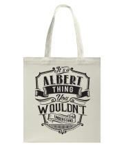 It's A Name Shirts - Albert  Tote Bag thumbnail