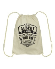 It's A Name Shirts - Albert  Drawstring Bag thumbnail
