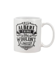 It's A Name Shirts - Albert  Mug thumbnail