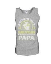 CALL ME FAMILY PASTOR PAPA JOB SHIRTS Unisex Tank thumbnail