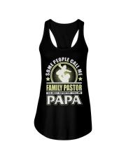 CALL ME FAMILY PASTOR PAPA JOB SHIRTS Ladies Flowy Tank thumbnail