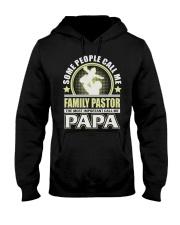 CALL ME FAMILY PASTOR PAPA JOB SHIRTS Hooded Sweatshirt thumbnail