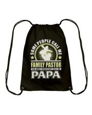 CALL ME FAMILY PASTOR PAPA JOB SHIRTS Drawstring Bag thumbnail