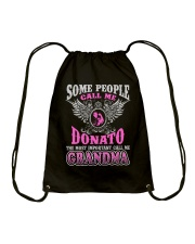 CALL ME DONATO GRANDMA THING SHIRTS Drawstring Bag tile
