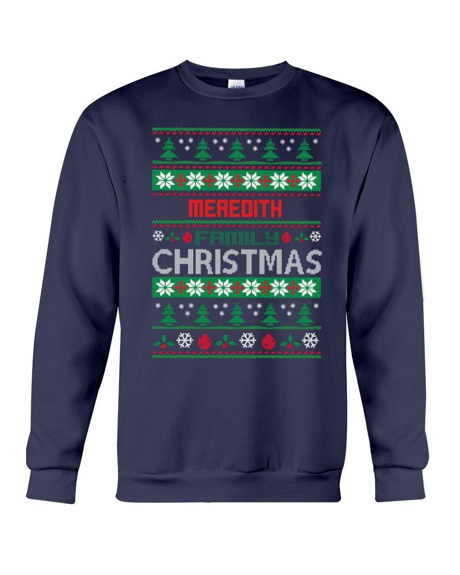 MEREDITH FAMILY CHRISTMAS THING SHIRTS Crewneck Sweatshirt