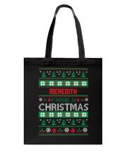 MEREDITH FAMILY CHRISTMAS THING SHIRTS Tote Bag thumbnail