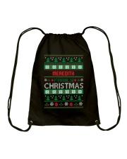 MEREDITH FAMILY CHRISTMAS THING SHIRTS Drawstring Bag thumbnail