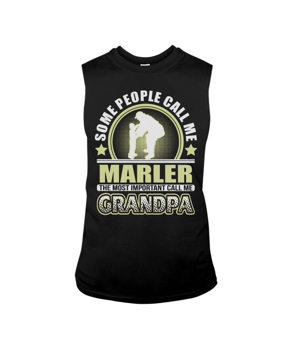 CALL ME MARLER GRANDPA THING SHIRTS Sleeveless Tee