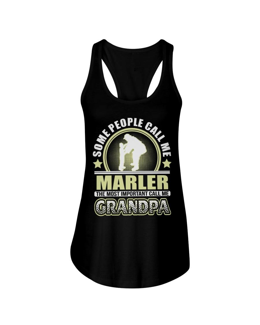CALL ME MARLER GRANDPA THING SHIRTS Ladies Flowy Tank