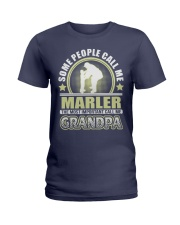 CALL ME MARLER GRANDPA THING SHIRTS Ladies T-Shirt front