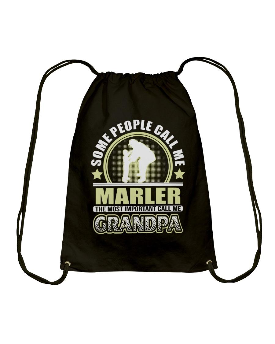 CALL ME MARLER GRANDPA THING SHIRTS Drawstring Bag