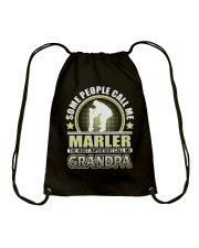 CALL ME MARLER GRANDPA THING SHIRTS Drawstring Bag thumbnail