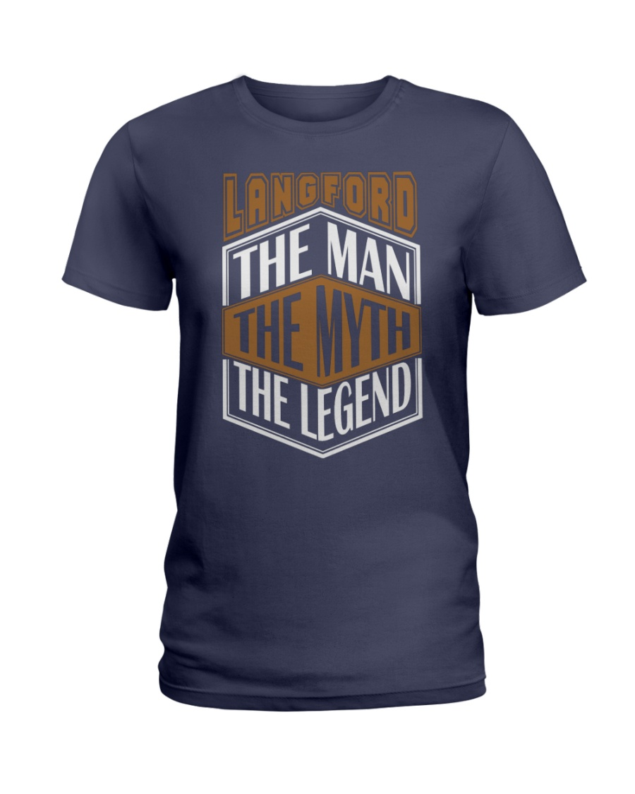 LANGFORD THE MYTH THE LEGEND THING SHIRTS Ladies T-Shirt