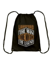 LANGFORD THE MYTH THE LEGEND THING SHIRTS Drawstring Bag thumbnail
